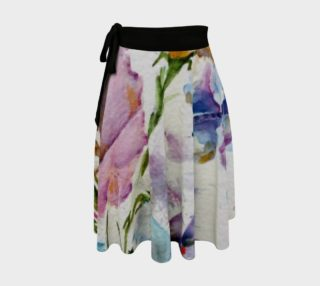 Whimsical Butterflies Wrap Skirt preview