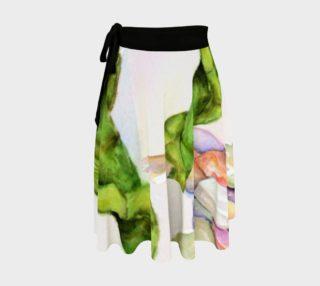 Lucky Bamboo Wrap Skirt preview