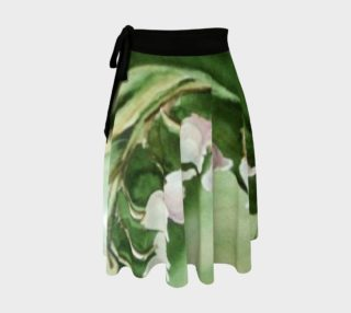 Lily of the Valley Fronds Wrap Skirt preview