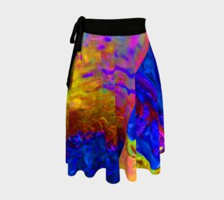 Atomic Arles Watercolor Rainbow WrapSkirt preview