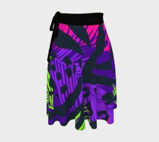 Neon Animal Print Skirt preview