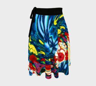Aperçu de Newport Island Rave-Wrap Skirt