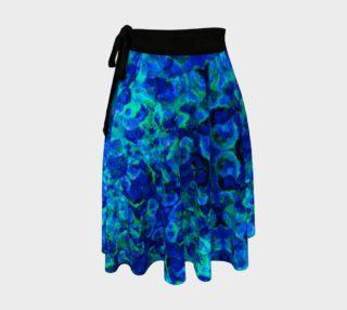 Indigo Stone Wrap Skirt preview