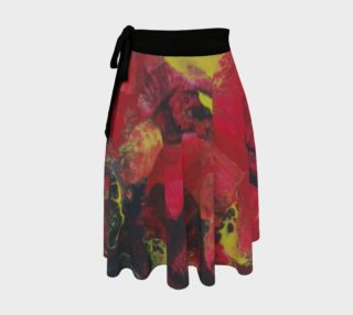 Midnight Blooms Wrap Skirt preview