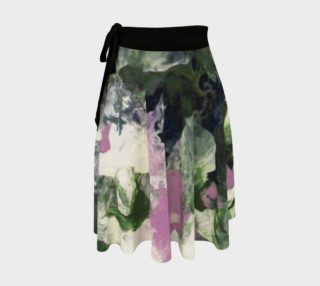 Pixie Flowers Wrap Skirt preview