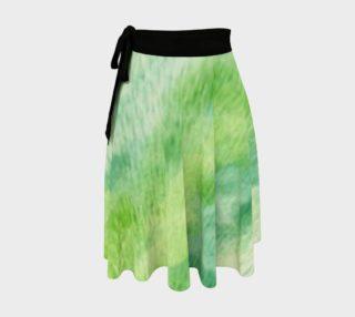 Fleur Verte Wrap Skirt preview