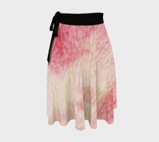 Peach Rose Wrap Skirt preview