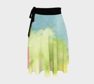 Flowers in Stained Glass Wrap Skirt preview