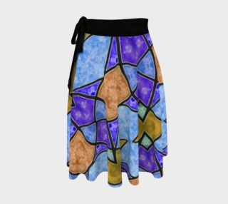 Harlequin Wrap Skirt preview