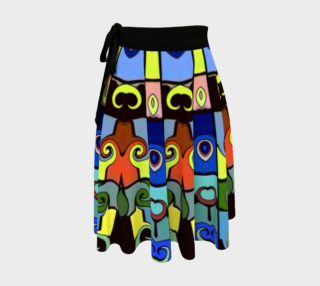 Stained Glass Window - Wrap Skirt preview