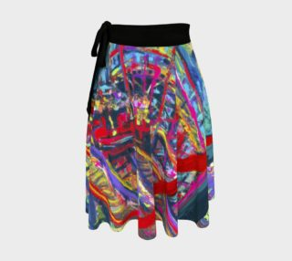 Roller Coaster 360 Wrap Skirt preview