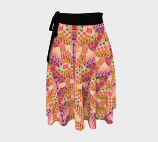 Pueblo Sunset Wrap Skirt preview