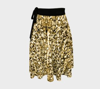 Gold Stone Wrap Skirt preview