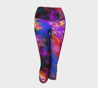 Pantacourts yoga Pluie de couleurs preview