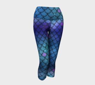 Aperçu de Mermaid Yoga Pants - Blue