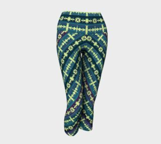 SW Salsa Plaid Yoga Capris preview