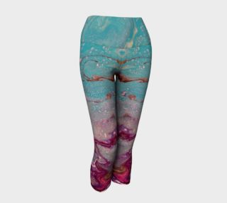 Aperçu de Magic Teal Yoga Capris