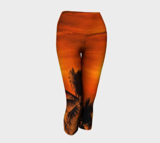 Mexican Sunrise Yoga Capris preview