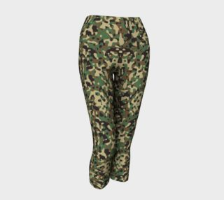 Aperçu de Camo Lady Capri Leggings