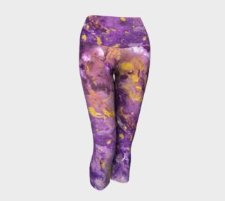 Violaceous Phoenix Yoga Capris preview