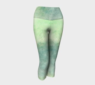 Green Dimension Flower Yoga Capris preview