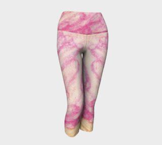 Pink Flowerets Yoga Capris preview