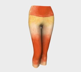 Poppy Paradise Yoga Capris preview