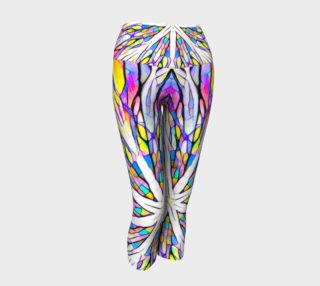 Stained glass yoga capris preview