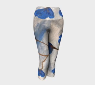 Azur Floraison Yoga Capris preview