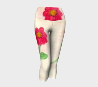 Red Daisy Yoga Capris preview
