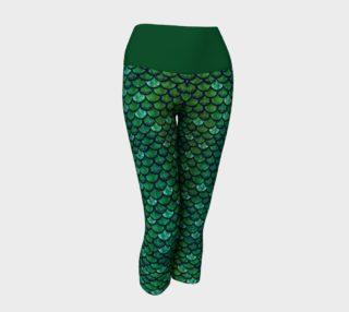 Glitterfish Green Mermaid Capris preview