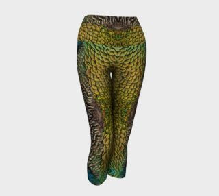 Peacock Feather Capris preview