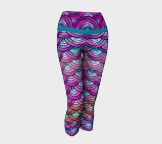 Aperçu de Purple Dragon Scale Capris