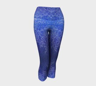 Blue Lace Ombre Capris preview