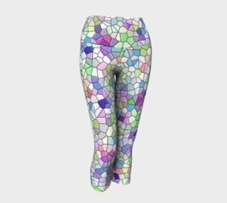 Mosaic Yoga Capris preview