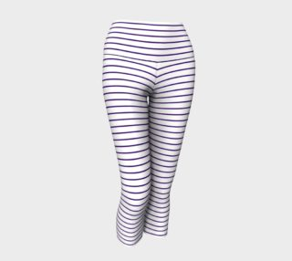 Lunatic Stripes White with Royal Purple Stripe preview