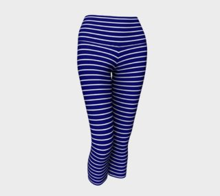 Lunatic Stripes Navy with White Stripe preview