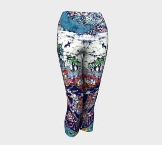 Magical Birds Yoga Capris preview
