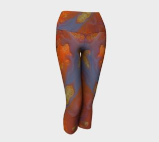 Tree of Life Stained Glass Yoga Capris II preview