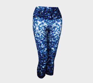 Beautiful Dark Blue glitter sparkles preview