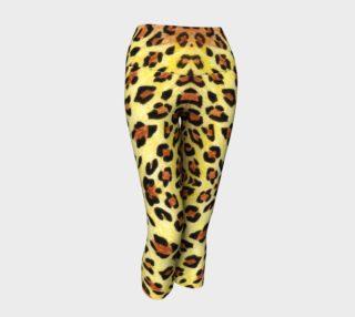 Leopard fur Yoga Capris preview