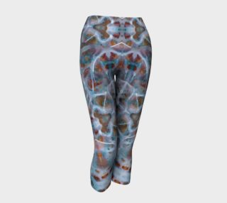 Gray Skin Yoga Capris preview