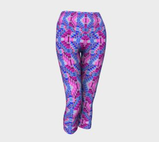 Purple Valentine Yoga Leggings I preview