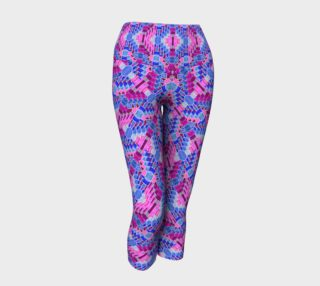 Purple Valentine Yoga Leggings II preview