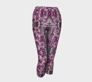 Amethyst Marble Yoga Capris I preview