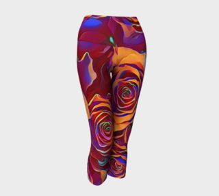 Aperçu de Why Not Roses Yoga Capris