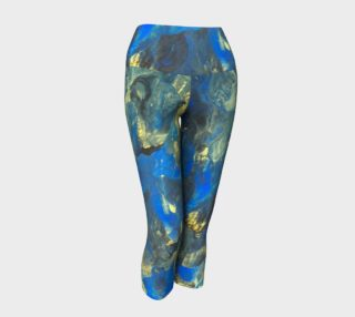 Flowers in the Sky Yoga Capris preview