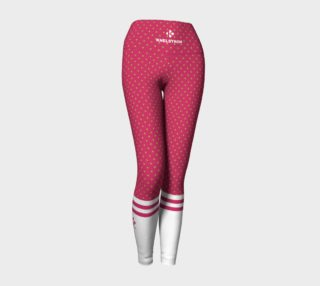 ALOE & HOT PINK LIGHT POLKA SOCK LEGGINGS preview