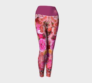 Rose Yoga Leggings preview