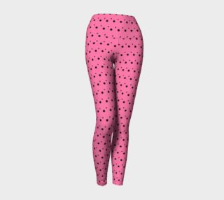 Tracks Bubble Gum Yoga Leggings preview